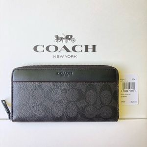 🌹Cheapest !Coach Men's Accordion Signature F25517